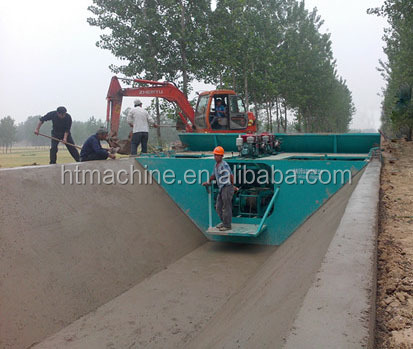 2016 Hot Sale New Designed Concrete Water Channel Making Machine