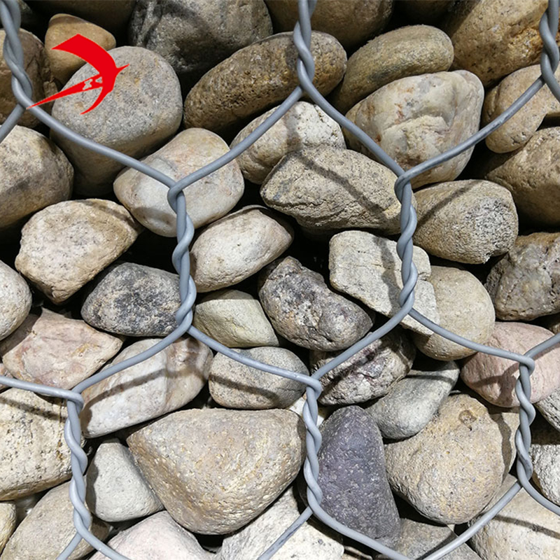 Anping hexagonal mesh gabion stone basket cage for retaining wall