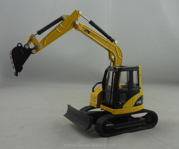 Diecast models toy excavator Scale: 1:64