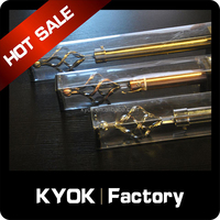 KYOK Window decoration extention curtain rod price cheap ,shower curtain rod in PVC box