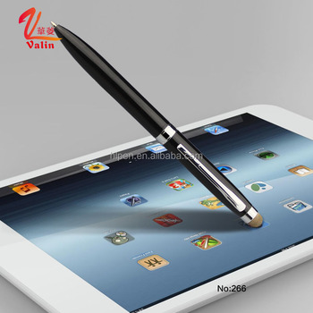 Promotional Custom Logo Projector Printed Cheap Metal Touch Stylus Pens