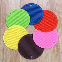 JianMei Brand silicone baking mat food grade round shaped heat-resistant silicone mat table baking pad
