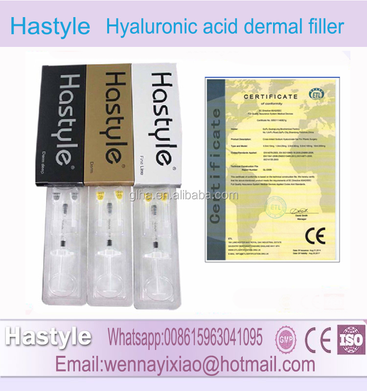 1ml HOT New Hyaluronic Acid Filler Dermal Injection Factory Supply With High Quality Injectable Hyaluronic Acid
