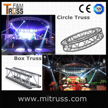Best price high quantity wholesale car show concert stage lighting truss