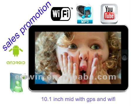 ZX-MD1002 GPS WIFI Android 2.2 honson tablet pc
