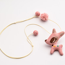 Deerlet Cartoon Fashion Girl's Necklace Children's Clothing Accessories