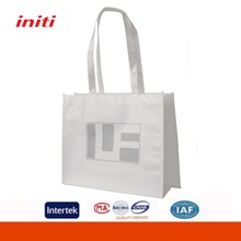 Advertising Promotional White Laminated Eco Rpet Tote Bag