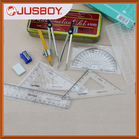 math mathematical sets instrument for compass divider 4 rulers