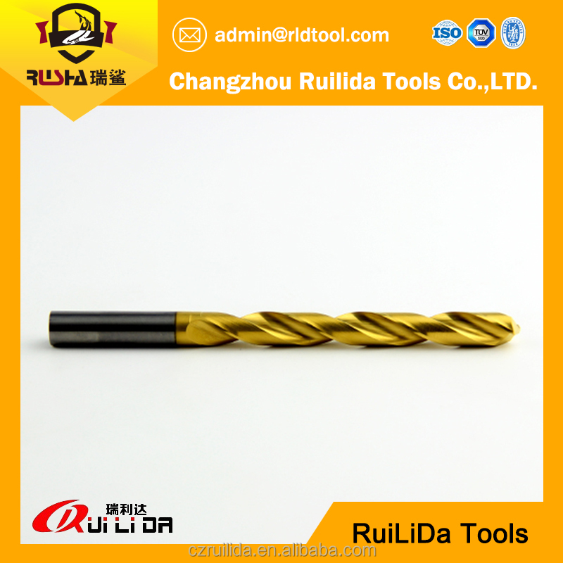 series fully ground drill bit ember flute black groove