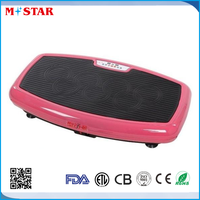 High Quality 3 Function High Power Vibration Plate Massage Fit Weight Loss Toning Plates/ Two Motors Crazy Fit Massage Machine