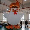 advertising inflatable giant turkey animal replica