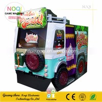 NQS-B10 online video game console 55''LCD Let's Go Jungle arcade shooting gun machine for adult play