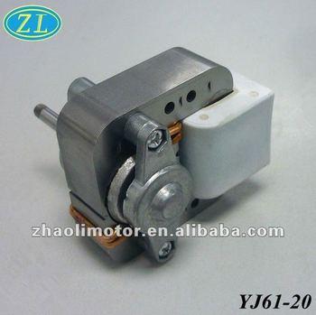 Shaded pole electric motor waterproof yj61 20 low rpm ac for Low rpm ac electric motor