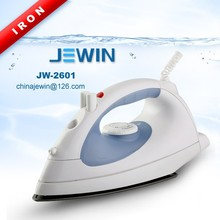 With 1200W Teflon soleplate electric steam iron