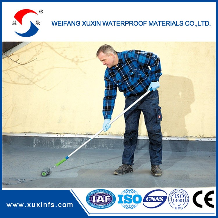 Roof waterproof projects Liquid rubber waterproof coating