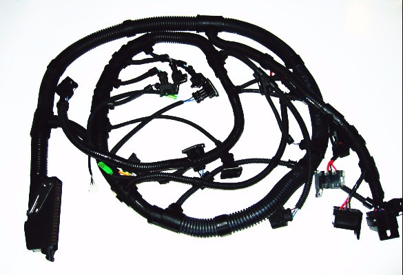 Car wiring harness assembly