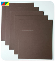 Color cardboard paper sheets with good stiffness