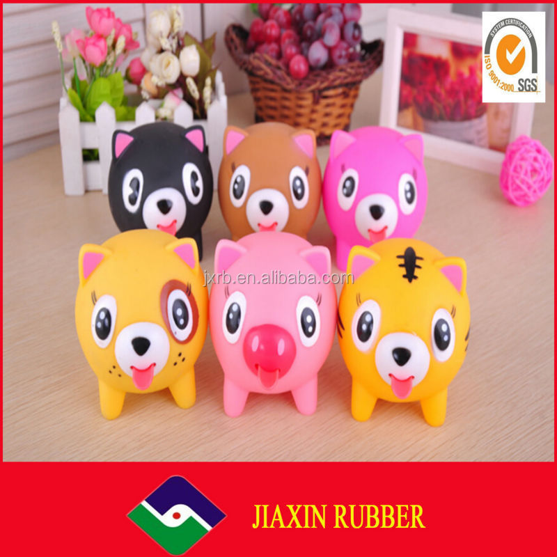 2014 HOT SALE High Quality New product soft rubber toys for kids