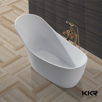 modern design solid surface freestanding baby mini baths
