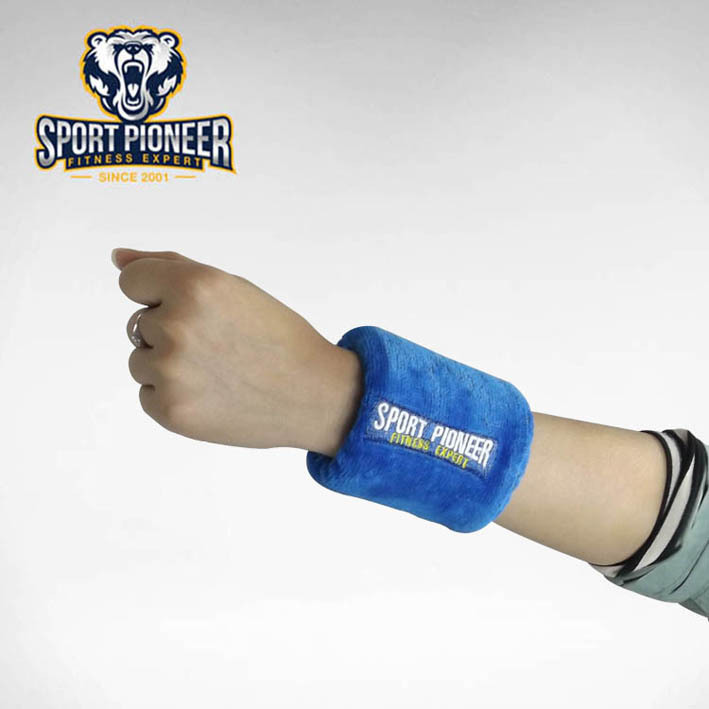 Cotton wrist wraps weight lifting hand