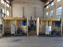 explosion proof chemical double shaft disperser/high speed dispersion machine