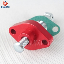 ZJMOTO High Quality CNC Aluminium Red Motorcycle Timing Chain Tensioner For KAWASAKI KLX 400 03-04