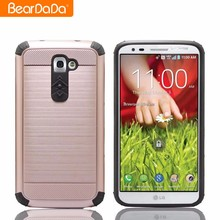 Best Praise Wire Drawing shockproof heavy duty case cover for lg g2
