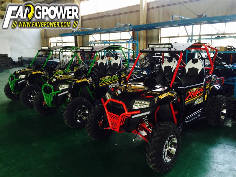 200cc Chain-drive UTV for on road drive and off road drive