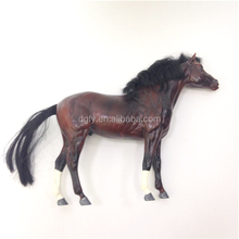 reality lifelike ornament fake fur for life size plastic horse