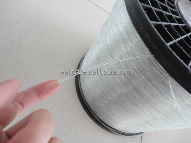 Hot sale 2.0 mm polyester monofilament wire for vegetable greenhouse