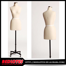 wholesale fabric female mannequin torso,dress form,tailor bust