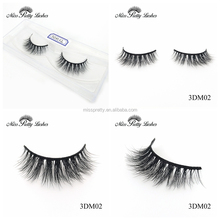 Real Mink 3D Lashes Handmade Quality False Strip Eyelashes Packaging Designs