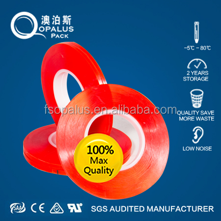 Acrylic double sided polyester punching plastic film tape