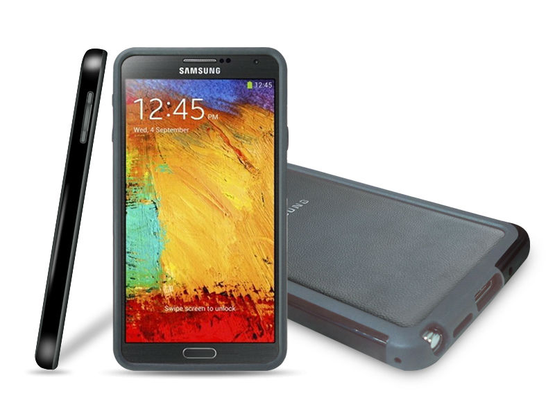 hybrid case for samsung note 3, soft bumper for samsung