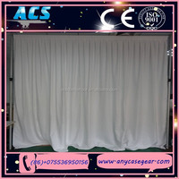 ACS Promotional pipe and drape , cheap pipe drape for sale
