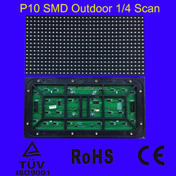 Full color outdoor P10 SMD LED Module, LED Display panel