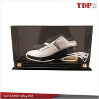 New Acrylic Single Shoe Protective Display Case with Cover