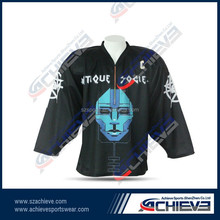 wholesale sublimated hockey jerseys customized for league