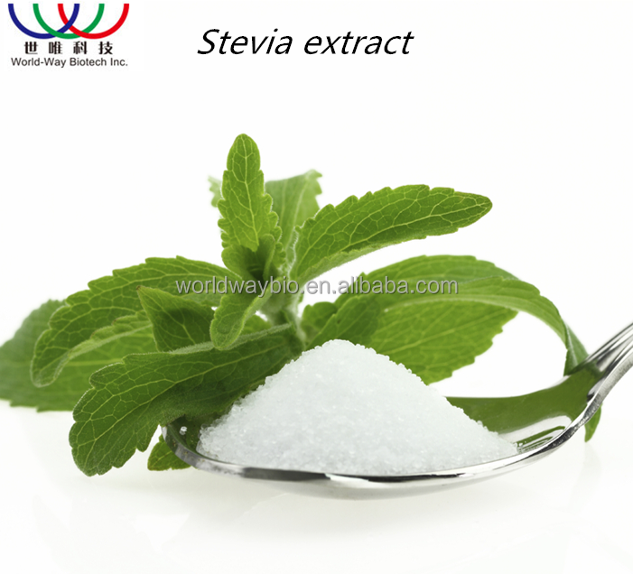 Free sample ! China FDA ,ISO ,KOSHER pure herbal extraction sweetener natural stevioside 98%