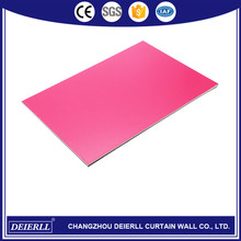 Professional interior wall decorative aluminum composite panel made in China