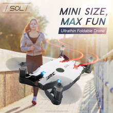 Hot Sale JJRC H49WH SOL Mini Foldable RC Drone WiFi FPV 720P HD Altitude Hold One Key Transformation RC Selfie Quadcopter Helico