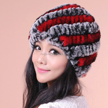 Fashion Women Winter Red Fur Caps Hats