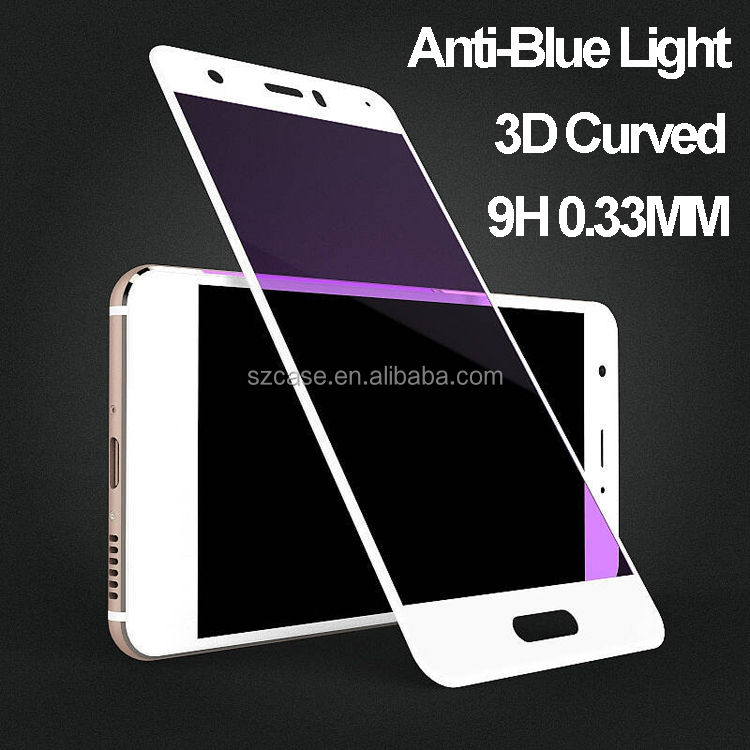 Anti Blue Light 0.33 9H Shatterproof Corning Glass 3D tempered glass for huawei nova screen protector