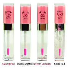 Private Label Cute Bear Candy Color Lip Gloss