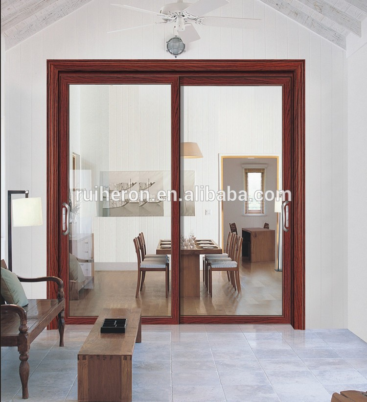 Factory price high quality fashionable aluminum soundproof interior sliding door room dividers
