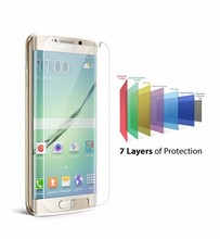 2016 New Arrival For Samsung Galaxy s7 edge tempered glass screen protector / 9H tempered glass for Samsung moilbe phone