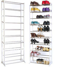 Metal shoe cabinet and wardrobe