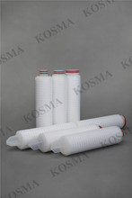 0.2 micron Hydrophobic Ptfe Membrane Pleated Water Filter Cartridge