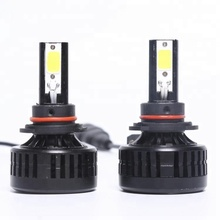 Super bright auto car COB H4 H/L replacement LED headlight kit bulb H4 Hi Lo beam 36W 3300lm 6000K 12V 24V