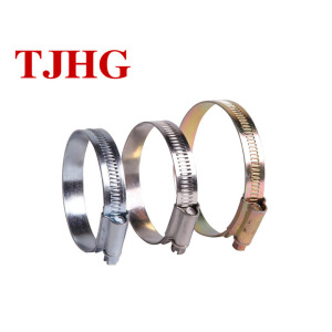 Factory price Hot product Customized Galvanized material British Type Hose clamp